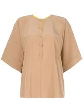 GIVENCHY | расклешенная блузка на пуговицах Givenchy | Clouty
