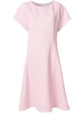 Marni | расклешенное платье с короткими рукавами Marni | Clouty