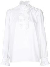 Stella McCartney | рубашка с оборкой 'Meredith' | Clouty