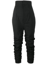 Jacquemus | узкие брюки с драпировкой | Clouty