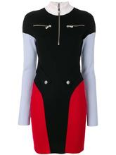 Versus | платье с контрастной отделкой  Versus | Clouty