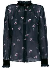 Armani Jeans | блузка с цветочным принтом  Armani Jeans | Clouty