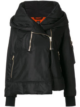 Bacon   куртка с вставками из молнии Bacon   Clouty