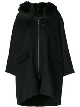 Ermanno Scervino | coat with fox fur hood Ermanno Scervino | Clouty