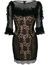 CHRISTOPHER KANE   платье с отделкой 'Ma' Christopher Kane   Clouty