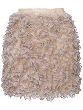 CHRISTOPHER KANE   мини-юбка с оборками  Christopher Kane   Clouty