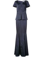 Zac Zac Posen | вечернее платье 'Rosa' с V-образным вырезом Zac Zac Posen | Clouty
