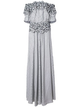 Zac Zac Posen | вечернее платье 'Maia' с цветочной вышивкой Zac Zac Posen | Clouty