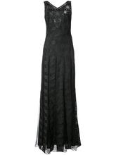 Zac Zac Posen | вечернее платье 'Adel' с принтом Zac Zac Posen | Clouty