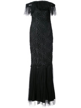 Zac Zac Posen | вечернее платье 'Sibyl' с открытыми плечами Zac Zac Posen | Clouty