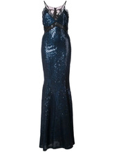 Zac Zac Posen | вечернее платье 'Leila' с пайетками Zac Zac Posen | Clouty