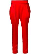 GIVENCHY   укороченные брюки с заниженным шаговым швом  Givenchy   Clouty