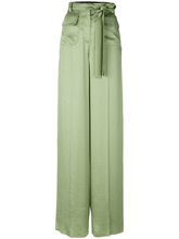 VALENTINO | широкие брюки с поясом  Valentino | Clouty