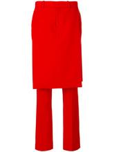 GIVENCHY | строгие брюки с верхним слоем в виде юбки  Givenchy | Clouty