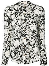 Michael Michael Kors | рубашка с цветочным принтом и оборкой  Michael Michael Kors | Clouty