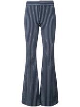 Derek Lam 10 Crosby | расклешенные полосатые брюки Derek Lam 10 Crosby | Clouty