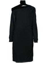 Tom Ford | платье с открытыми плечами и деталями со сборкой  Tom Ford | Clouty