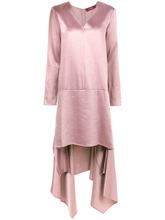 Sies Marjan | сатиновое платье асимметричного кроя 'Bobbie' Sies Marjan | Clouty