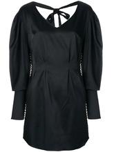 Magda Butrym | платье с завязкой на спине и украшением под жемчуг Magda Butrym | Clouty