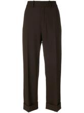 Chloé   укороченные брюки с отворотами  Chloe   Clouty