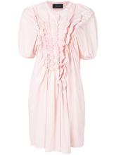 SIMONE ROCHA   платье с оборкой  Simone Rocha   Clouty