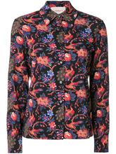 La Doublej   рубашка узкого кроя 'Pavone Nero' La Doublej   Clouty