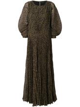 Etro | плиссированное платье с поясом Etro | Clouty