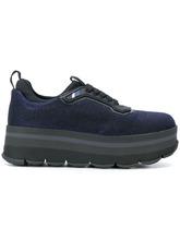 PRADA | кроссовки на платформе с люрексом Prada | Clouty