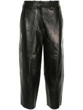 JIL SANDER | укороченные брюки со складками спереди Jil Sander | Clouty