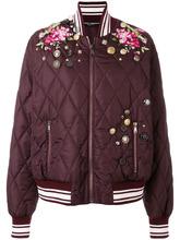 Dolce & Gabbana | куртка-бомбер с вышивкой  Dolce & Gabbana | Clouty