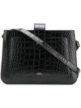 A.P.C. | сумка 'Albana' с тисненым эффектом крокодиловой кожи | Clouty
