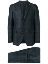 Tagliatore | checked two-piece suit | Clouty