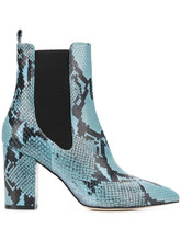 Paris Texas | python embossed boots | Clouty