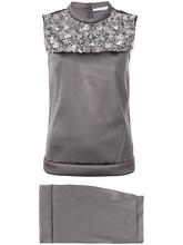 Prada Vintage | декорированная блузка и юбка 2000-х годов | Clouty