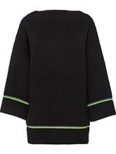 PRADA | свитер с вырезом-лодочкой | Clouty