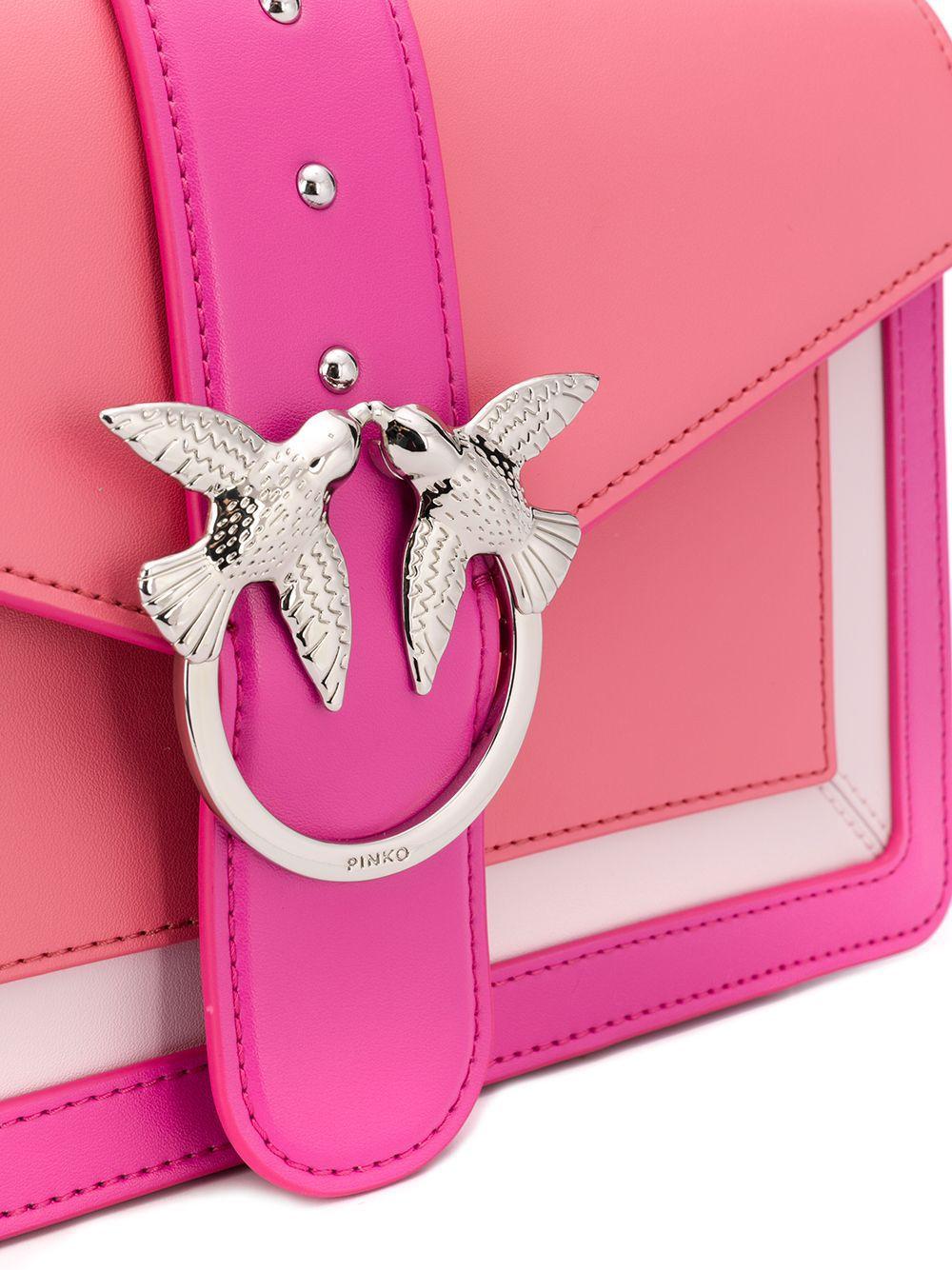 PINKO | сумка на плечо дизайна колор-блок | Clouty