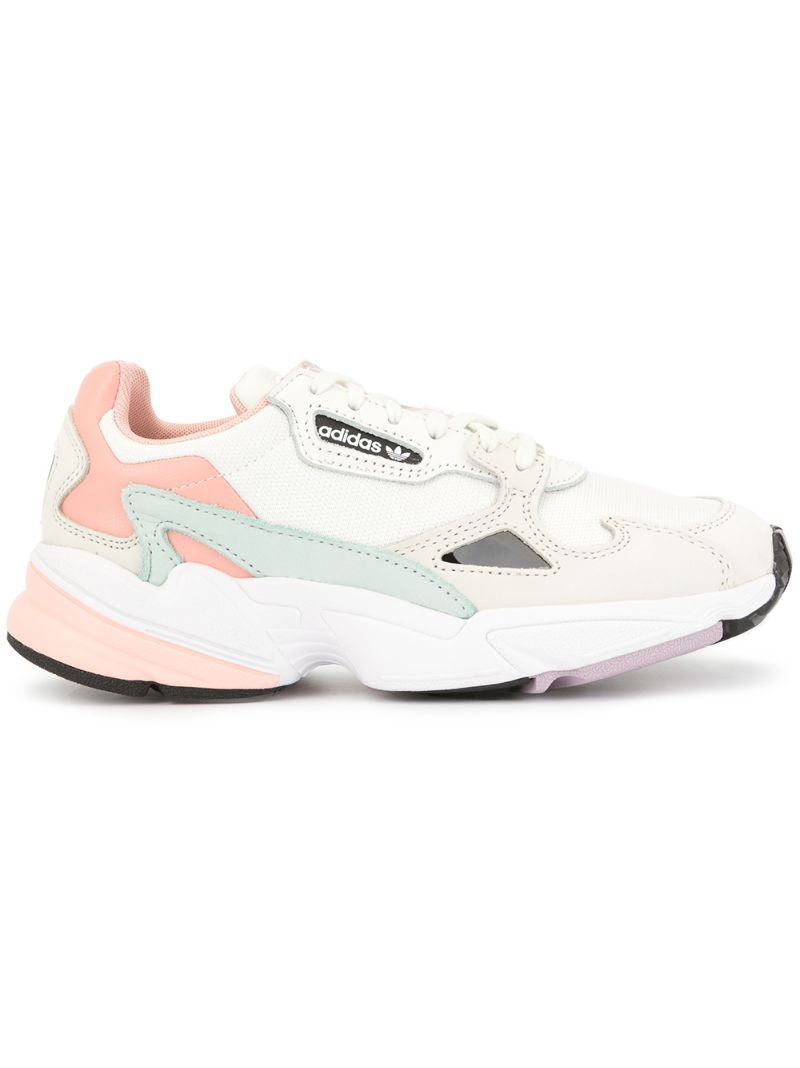 adidas | pink Falcon sneakers | Clouty