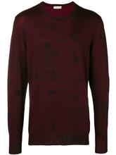 Etro | свитер узкого кроя с вышивкой | Clouty