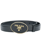 PRADA | Saffiano logo belt | Clouty
