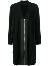 Sacai | slouched zipped cardi-coat | Clouty