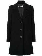 Love Moschino | classic single breasted coat | Clouty