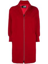 Love Moschino | классическое однобортное пальто | Clouty