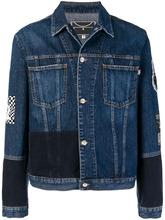 McQ Alexander Mcqueen   джинсовая куртка с нашивкой 'Skate'   Clouty