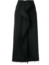 MM6 Maison Margiela | юбка с оборкой спереди | Clouty