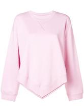 MM6 Maison Margiela | pointed hem sweatshirt | Clouty