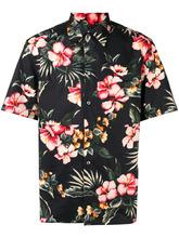 VALENTINO | рубашка с короткими рукавами с цветочным принтом | Clouty