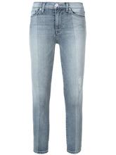 Hudson Jeans | укороченные джинсы скинни с высокой талией | Clouty