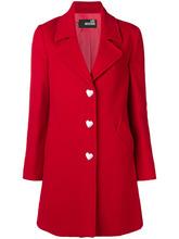 Love Moschino | приталенное пальто строгого кроя | Clouty
