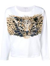 Sonia Rykiel | толстовка с принтом леопарда | Clouty