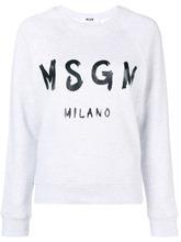 MSGM | logo print sweatshirt | Clouty